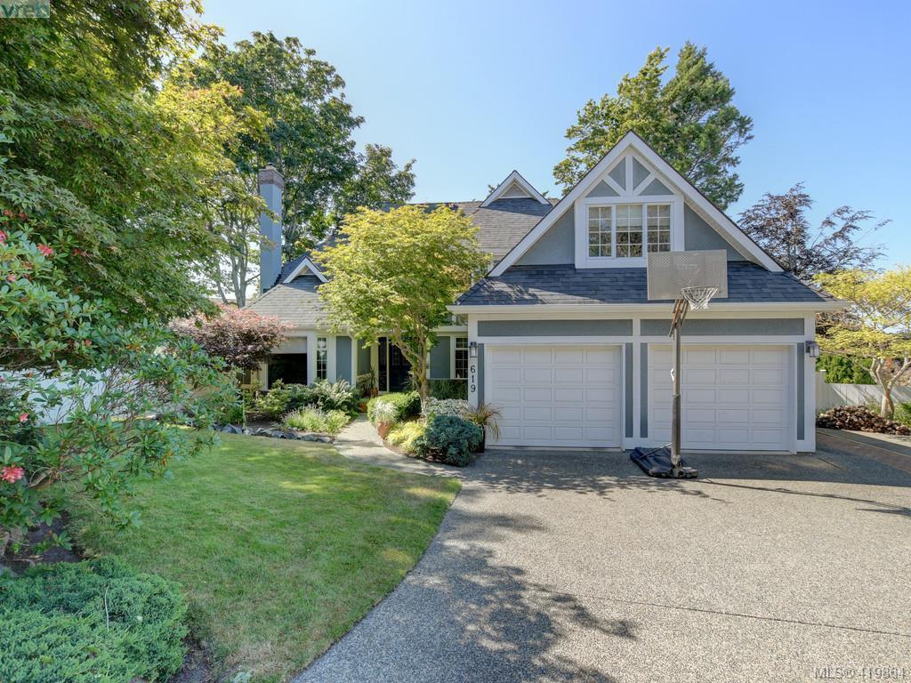 Main Photo: 619 Island Road in VICTORIA: OB South Oak Bay Single Family Detached for sale (Oak Bay)  : MLS®# 419864