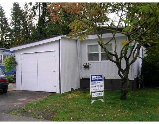 "Main Photo: 46 23264 CALVIN Crescent in Maple_Ridge: East Central Manufactured Home for sale in ""GARIBALDI COURT"" (Maple Ridge)  : MLS®# V673083"