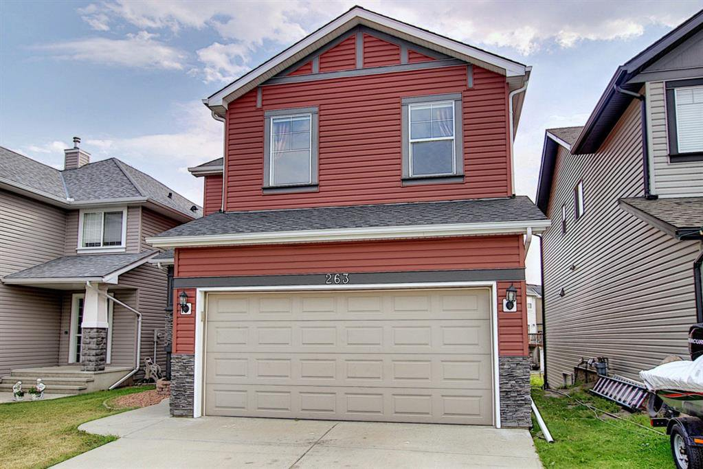Main Photo: 263 SAGEWOOD Drive SW: Airdrie Detached for sale : MLS®# A1030042