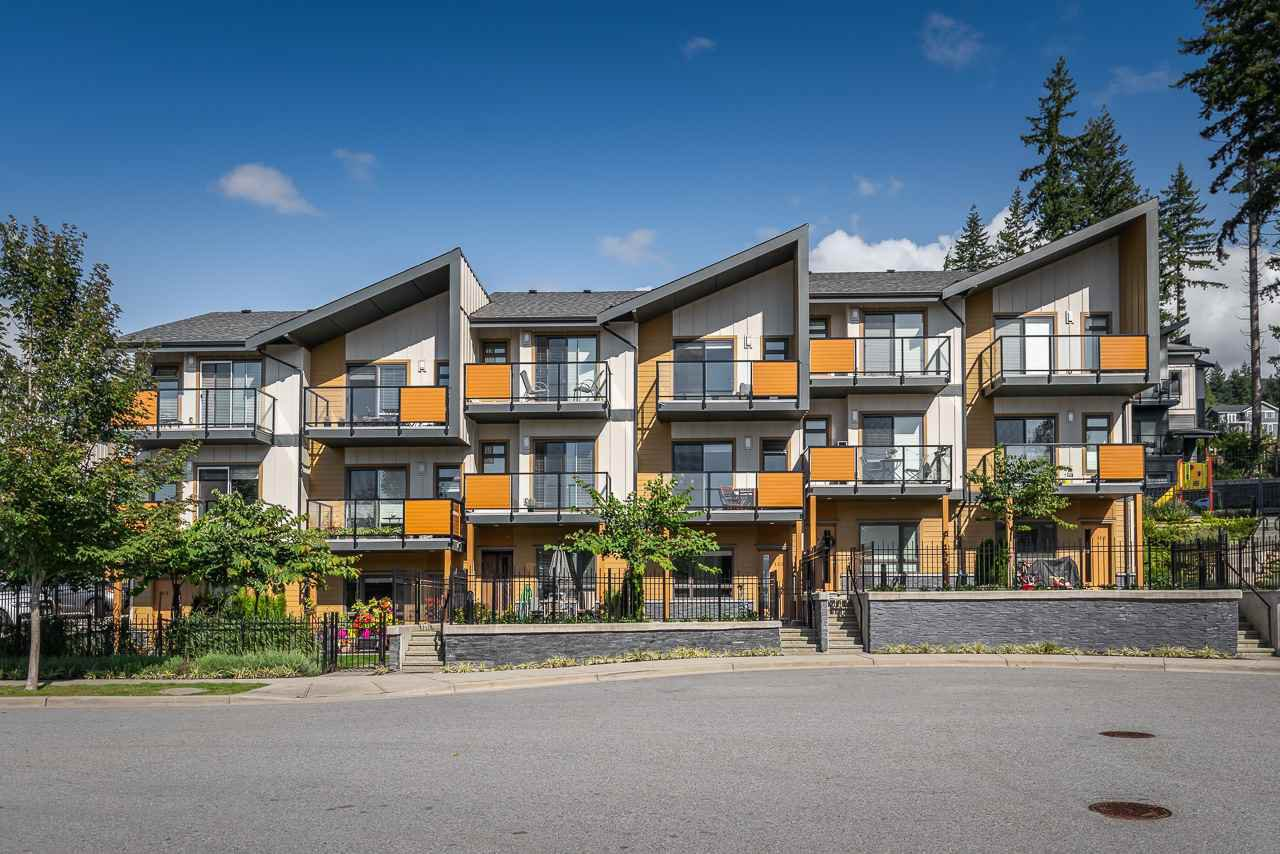 "Main Photo: 108 3525 CHANDLER Street in Coquitlam: Burke Mountain Townhouse for sale in ""WHISPER"" : MLS®# R2409580"