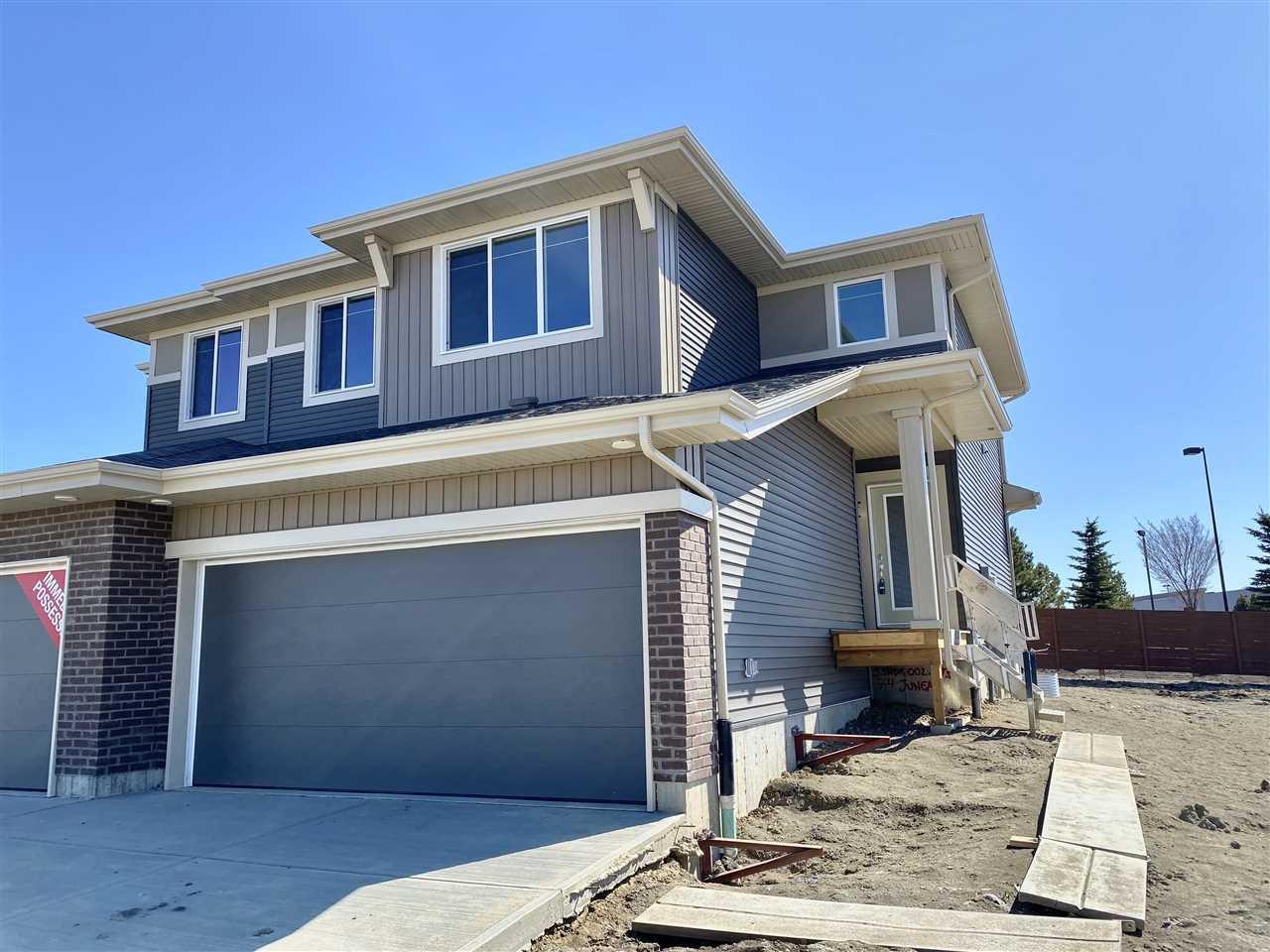 Main Photo: 74 JUNEAU Way: St. Albert House Half Duplex for sale : MLS®# E4196050