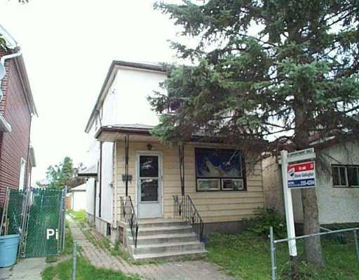 Main Photo: 843 ABERDEEN Avenue in WINNIPEG: North End Duplex for sale (North West Winnipeg)  : MLS®# 2711734