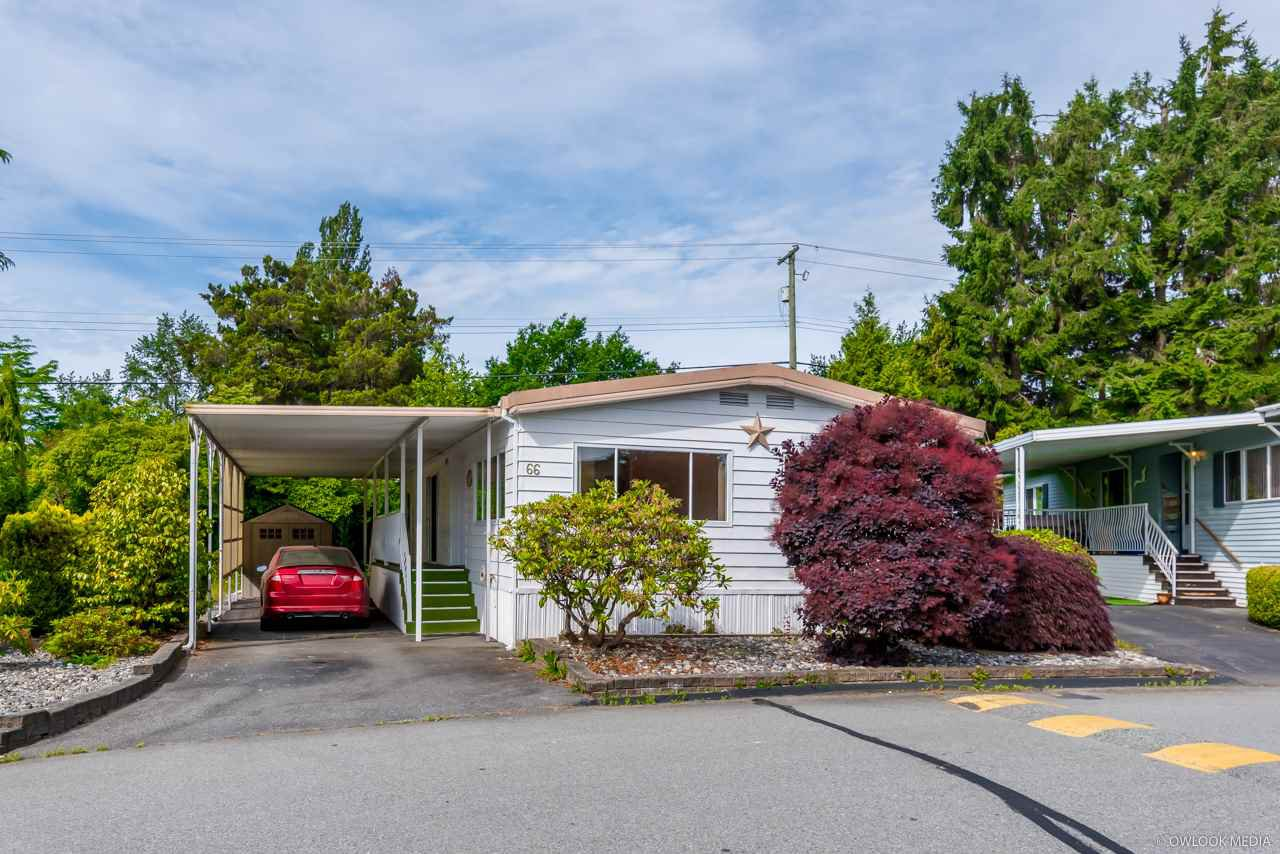 """Main Photo: 66 15875 20 Avenue in Surrey: King George Corridor Manufactured Home for sale in """"Sea Ridge Bays"""" (South Surrey White Rock)  : MLS®# R2467201"""