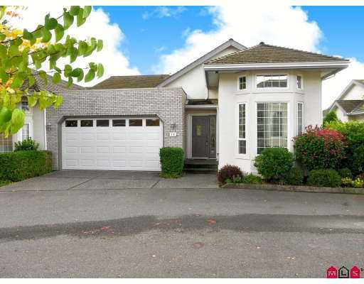 """Main Photo: 18 31450 SPUR Avenue in Abbotsford: Abbotsford West Townhouse for sale in """"Lake Point Villa"""" : MLS®# F2725510"""