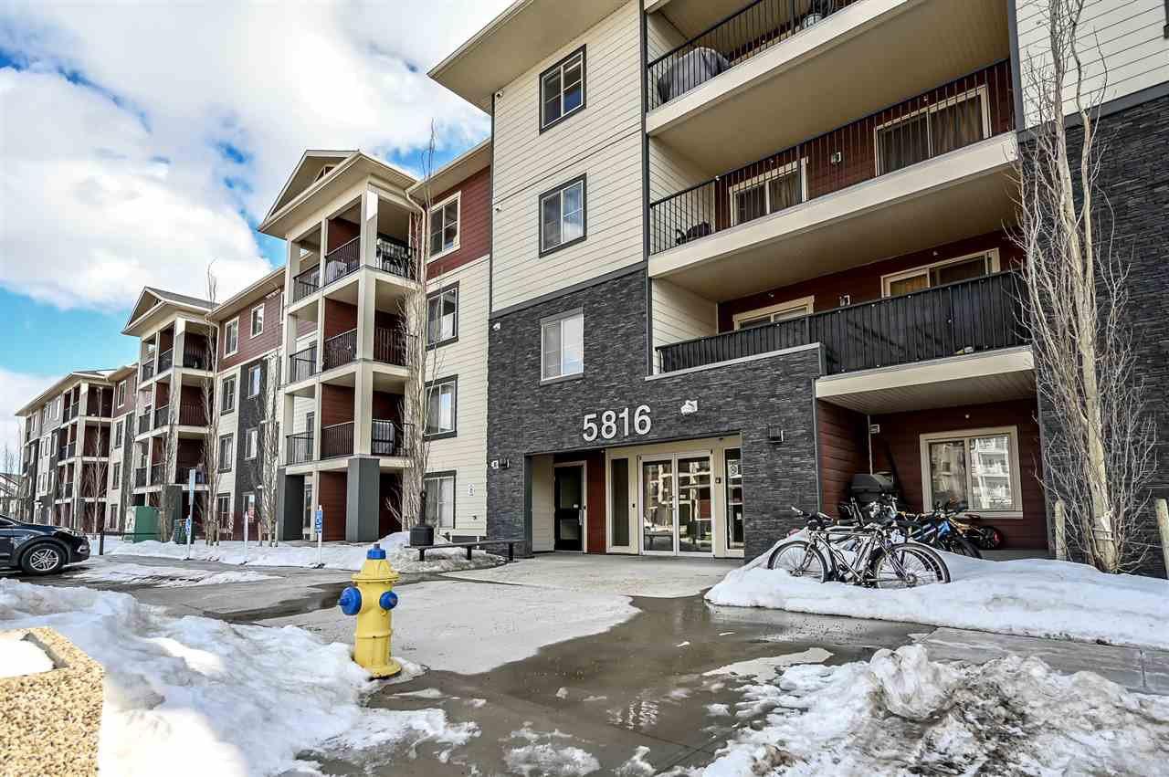 Main Photo: 210 5816 MULLEN Place in Edmonton: Zone 14 Condo for sale : MLS®# E4189698
