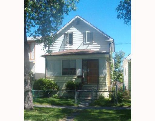 Main Photo: 615 ATLANTIC Avenue in WINNIPEG: North End Single Family Detached for sale (North West Winnipeg)  : MLS®# 2712738