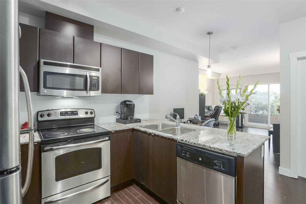 """Main Photo: 325 9655 KING GEORGE Boulevard in Surrey: Whalley Condo for sale in """"GRUV"""" (North Surrey)  : MLS®# R2405936"""