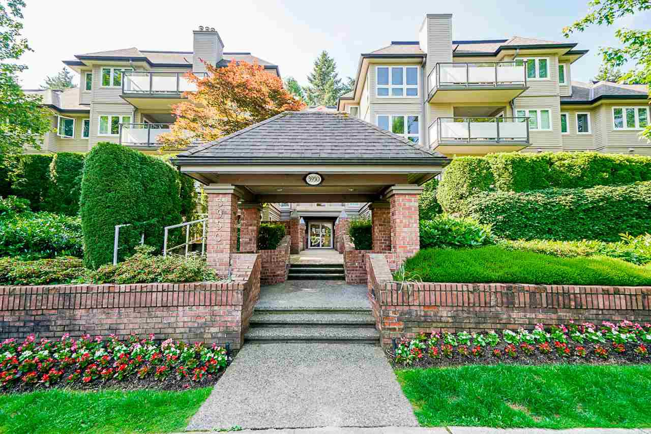 "Main Photo: 107 3950 LINWOOD Street in Burnaby: Burnaby Hospital Condo for sale in ""Cascade Village"" (Burnaby South)  : MLS®# R2470039"