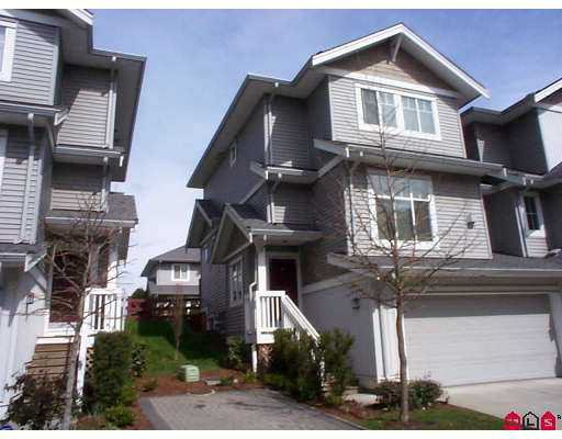 "Main Photo: 16760 61ST Ave in Surrey: Cloverdale BC Townhouse for sale in ""HARVEST LANDING"" (Cloverdale)  : MLS®# F2708269"