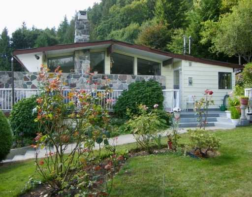 Main Photo: 1107 Marine Drive in SECHELT: House for sale (Sunshine Coast)  : MLS®# V773188