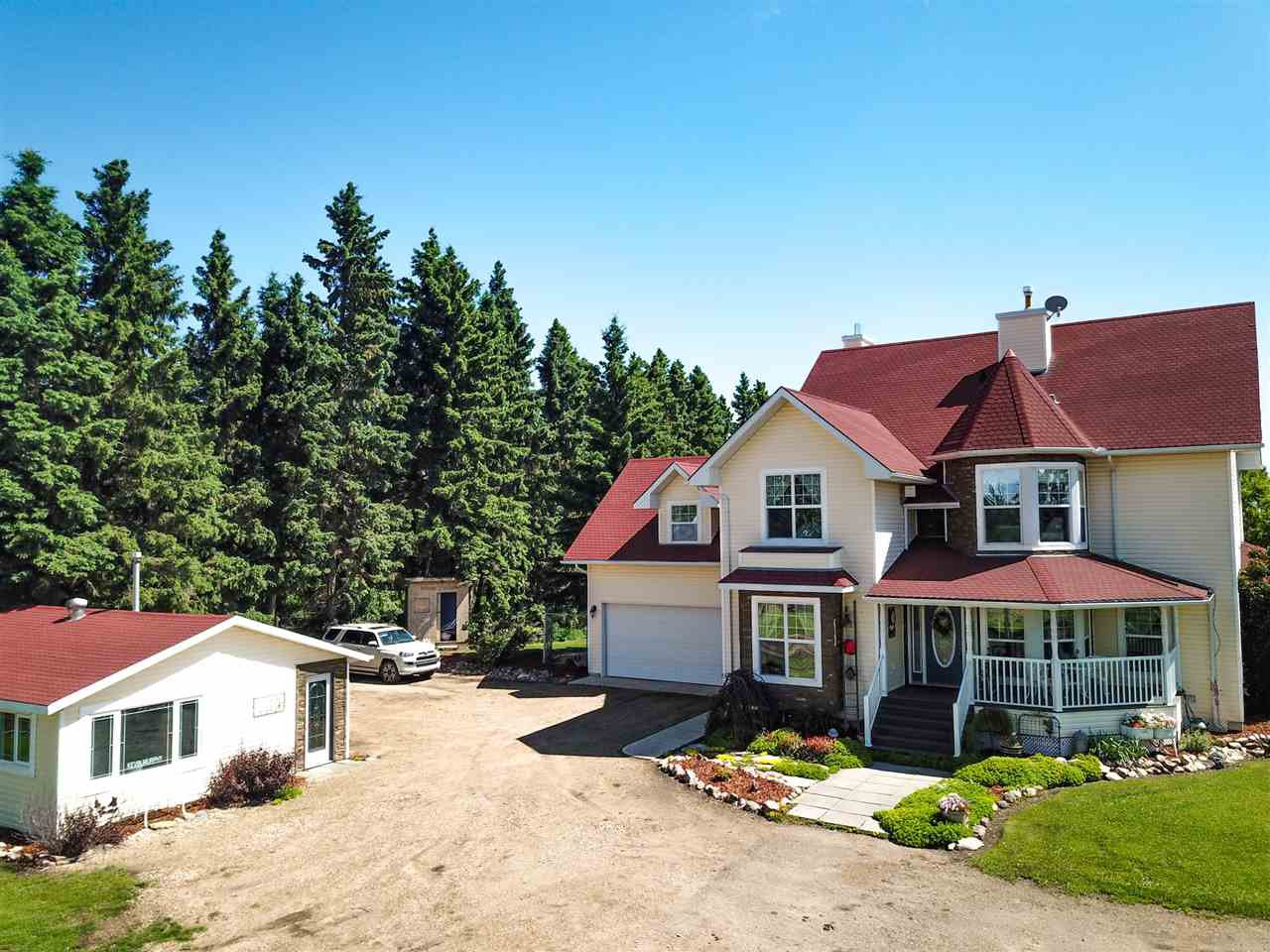 Main Photo: 464004 Hwy 795: Rural Wetaskiwin County House for sale : MLS®# E4205198