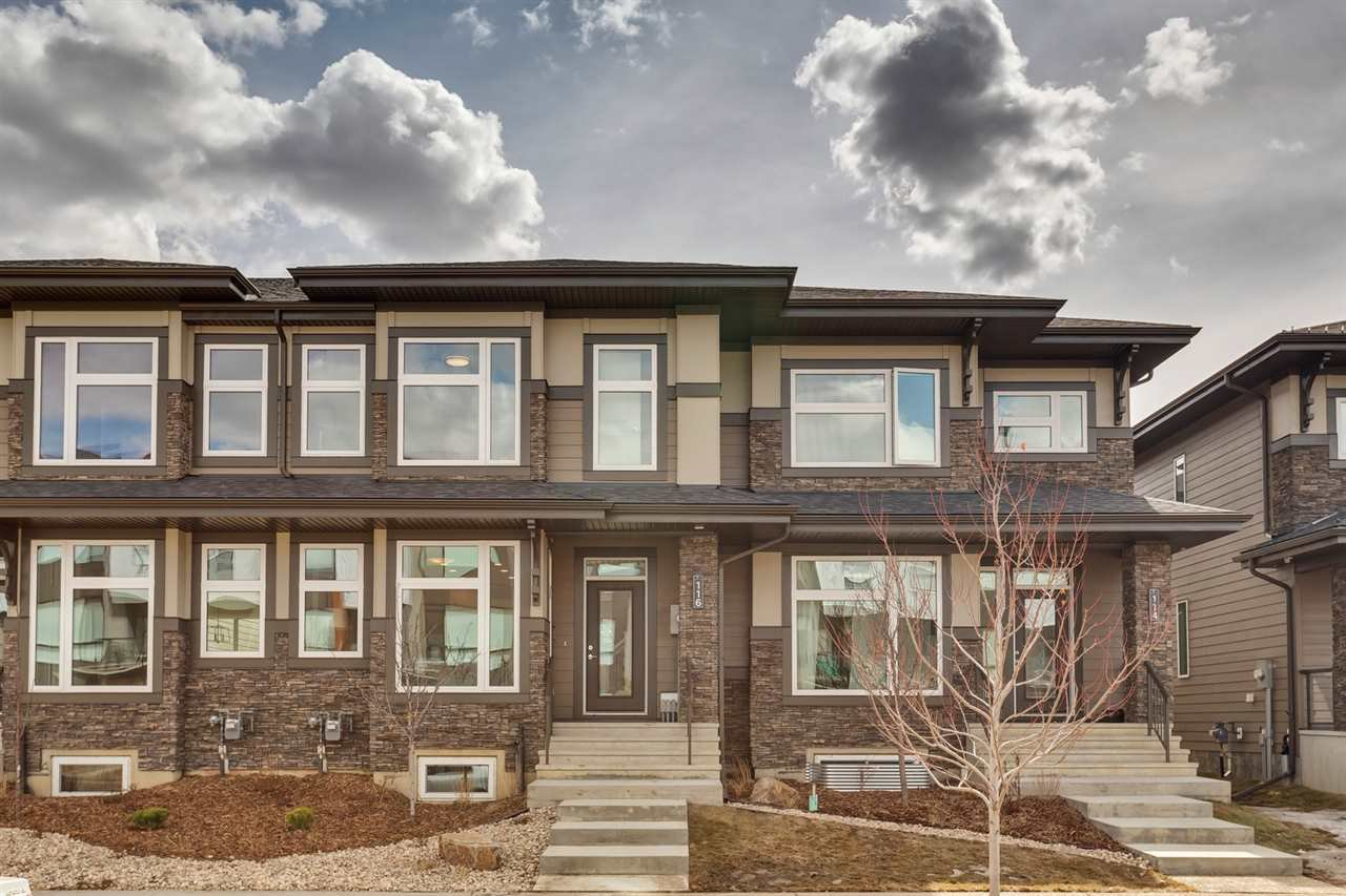 Main Photo: 116 SALISBURY Way: Sherwood Park Attached Home for sale : MLS®# E4217740