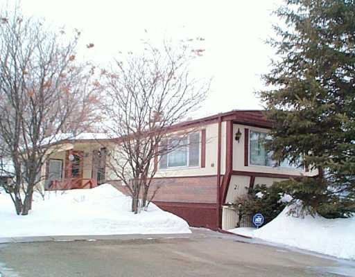 Main Photo: 21 SANDALE Drive in Winnipeg: St Vital Mobile Home for sale (South East Winnipeg)  : MLS®# 2602787