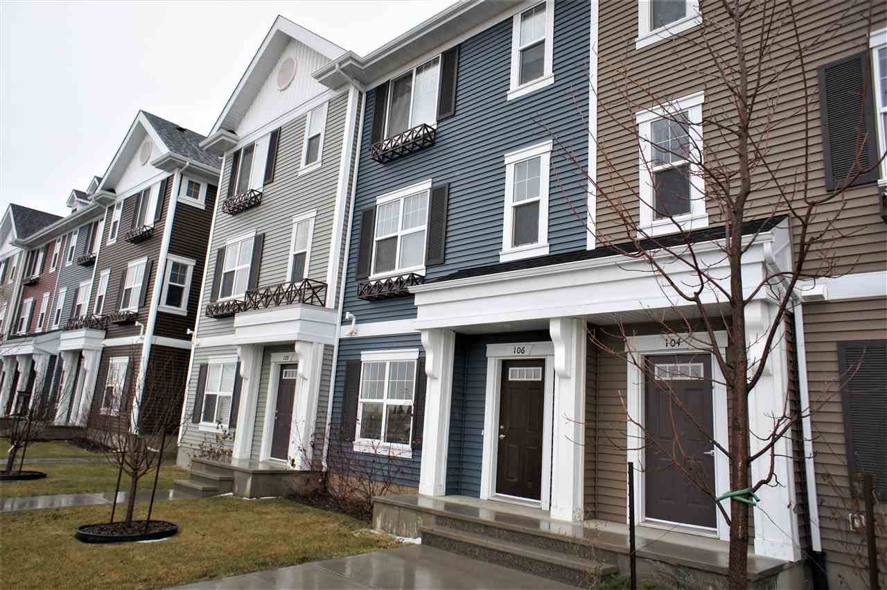 Main Photo: 8530 94 Street: Fort Saskatchewan Townhouse for sale : MLS®# E4187345