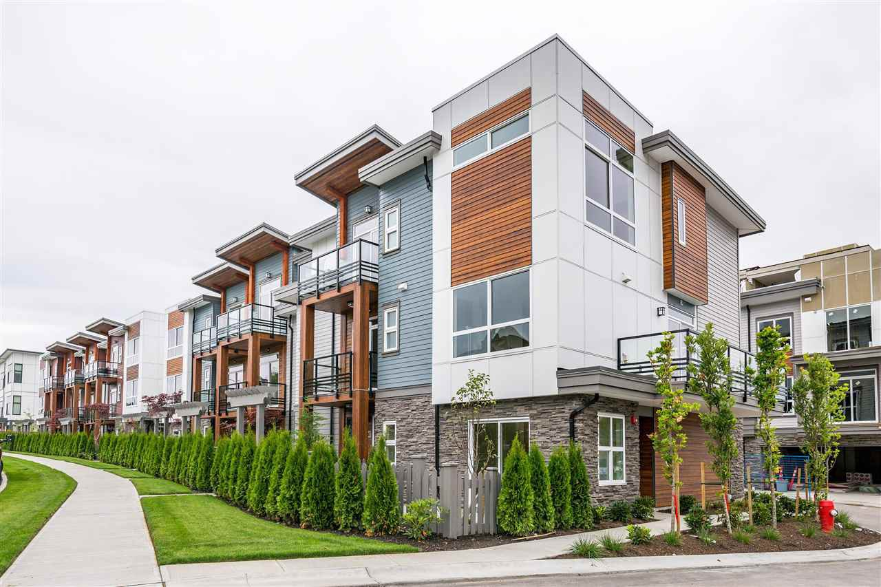 "Main Photo: 116 7947 209 Street in Langley: Willoughby Heights Townhouse for sale in ""LUXIA"" : MLS®# R2437288"