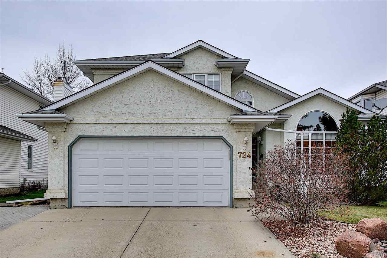 Main Photo: 724 REVELL Crescent in Edmonton: Zone 14 House for sale : MLS®# E4220065