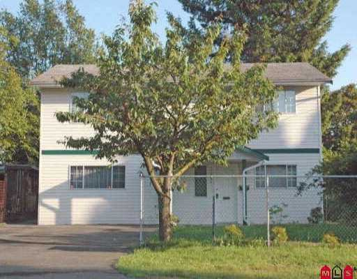 Photo 1: Photos: 33598 8TH AV in Mission: Mission BC House for sale : MLS®# F2611124