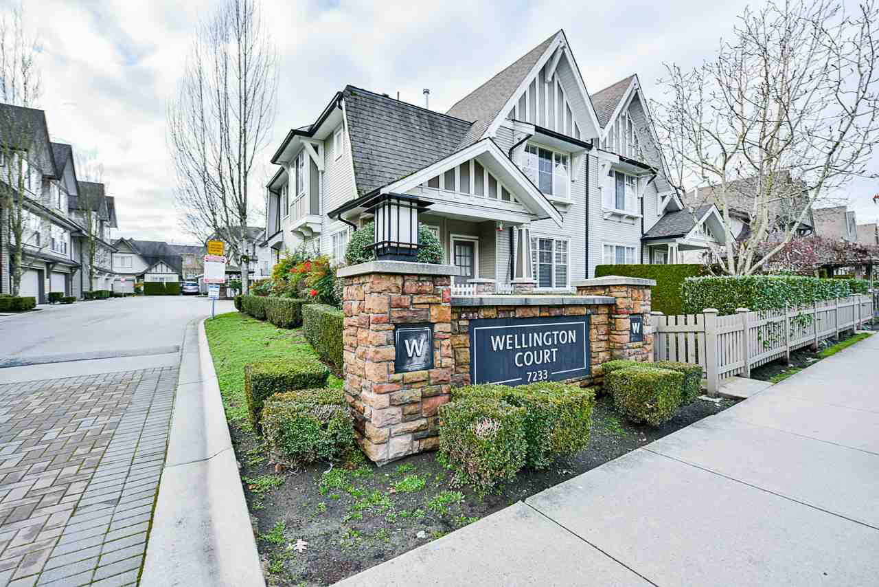 Main Photo: 35 7233 HEATHER Street in Richmond: McLennan North Townhouse for sale : MLS®# R2424838