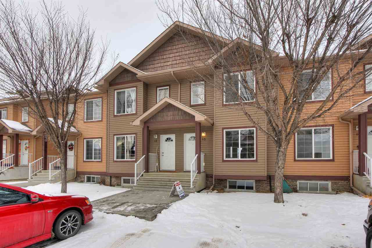 Main Photo: 13, 320 SPRUCE RIDGE Road: Spruce Grove Townhouse for sale : MLS®# E4221114