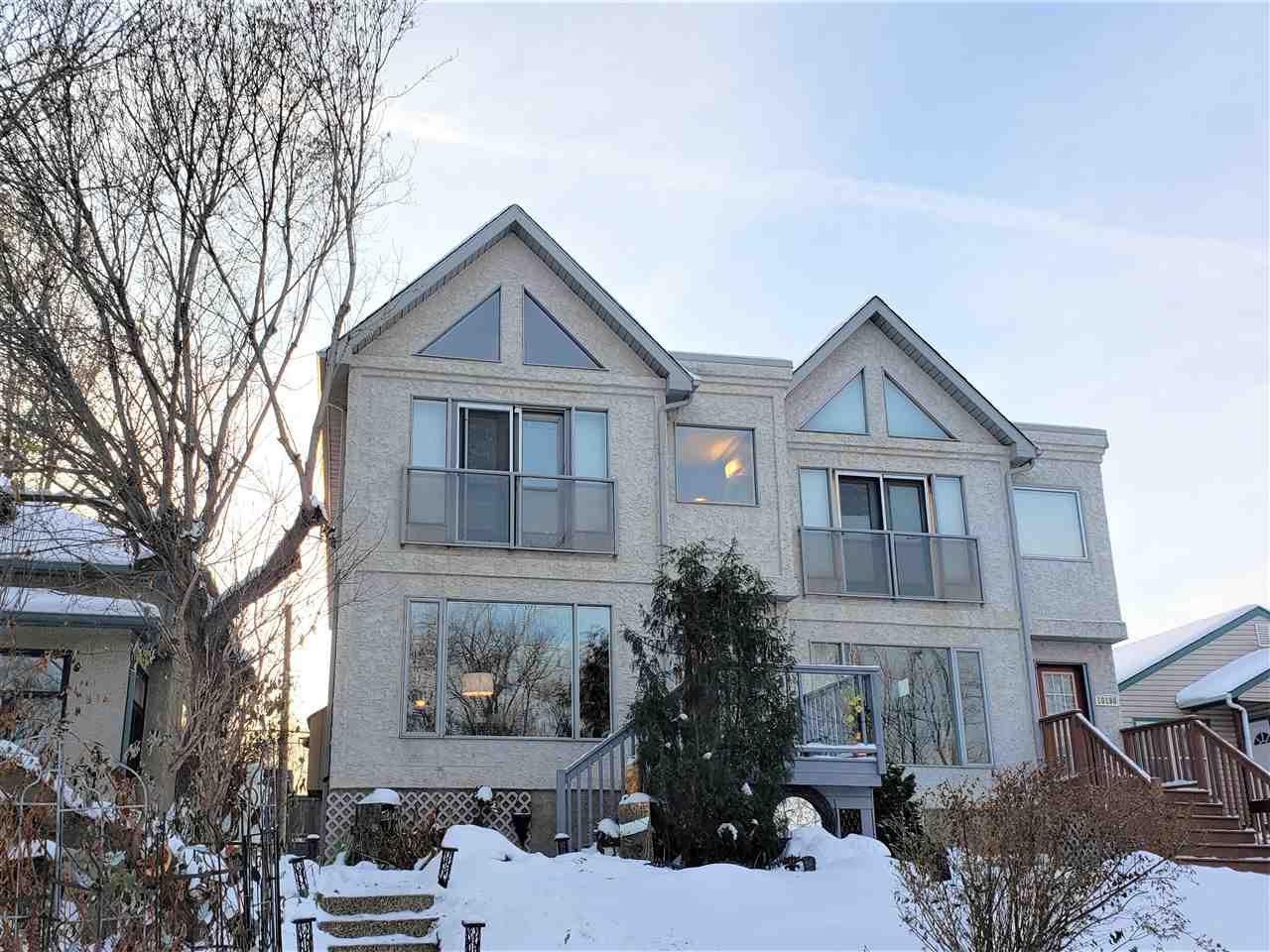Main Photo: 10188 87 Street in Edmonton: Zone 13 House Half Duplex for sale : MLS®# E4220134