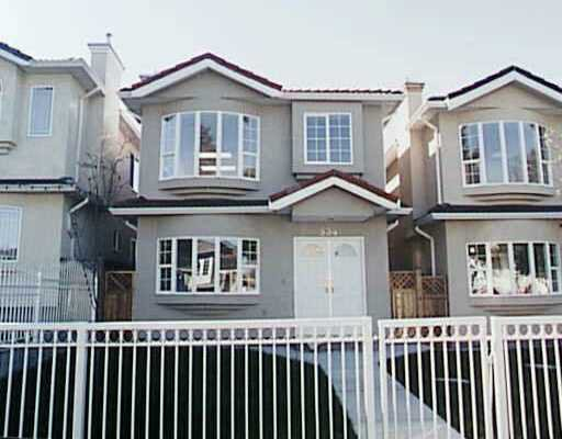 Main Photo: 534 E 17TH Ave in Vancouver: Fraser VE House for sale (Vancouver East)  : MLS®# V635035