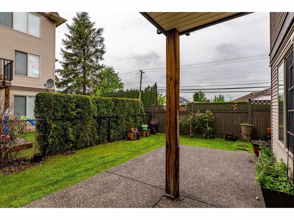 """Photo 34: Photos: 68 5556 PEACH Road in Chilliwack: Vedder S Watson-Promontory Townhouse for sale in """"The Gables at Riverbend"""" (Sardis)  : MLS®# R2453710"""