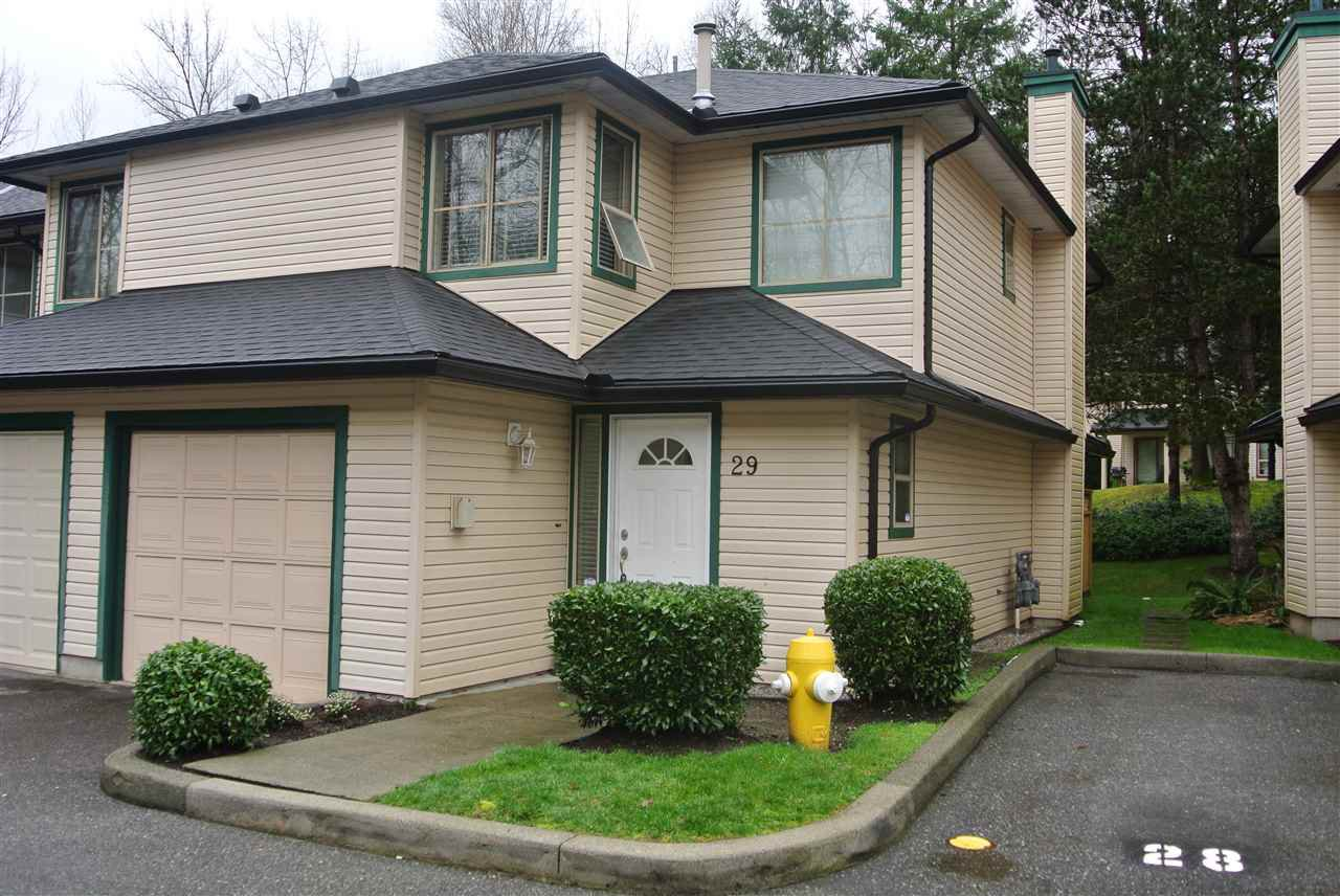 "Main Photo: 29 21960 RIVER Road in Maple Ridge: West Central Townhouse for sale in ""FOXBOROUGH"" : MLS®# R2436064"
