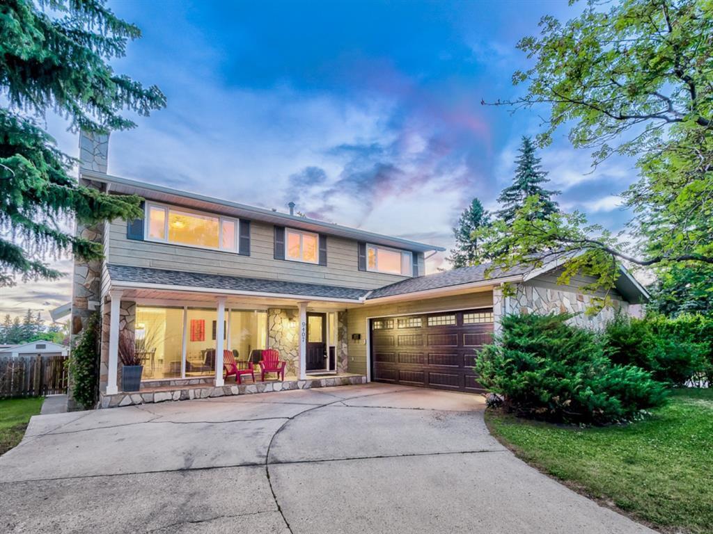 Main Photo: 9407 22 Street SW in Calgary: Palliser Detached for sale : MLS®# A1038500
