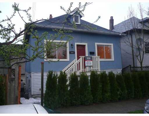 Main Photo: 509 SALSBURY Drive in Vancouver: Hastings House for sale (Vancouver East)  : MLS®# V700376