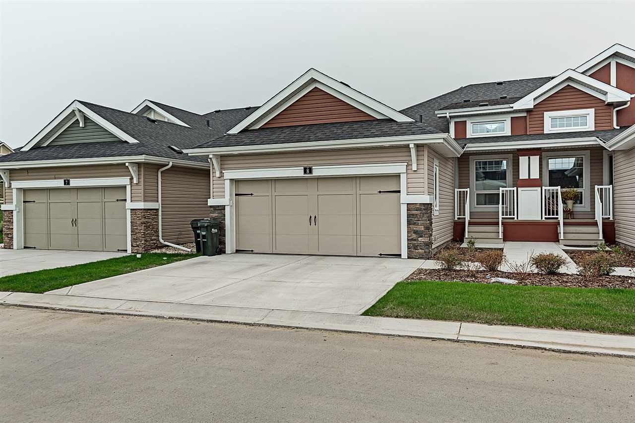 Main Photo: 175 ABBEY Road: Sherwood Park House Half Duplex for sale : MLS®# E4173793