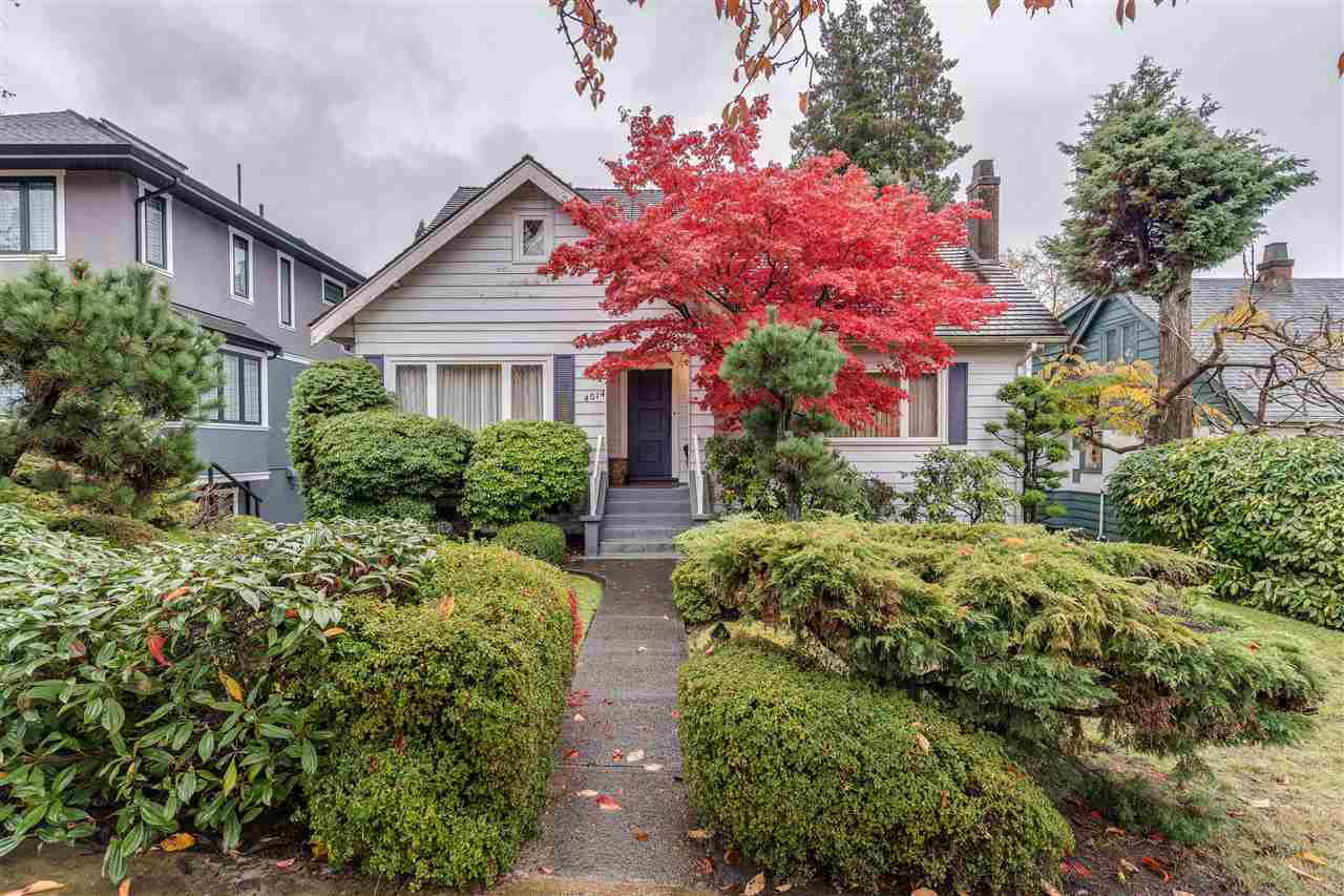 Main Photo: 4014 W 36TH Avenue in Vancouver: Dunbar House for sale (Vancouver West)  : MLS®# R2414913