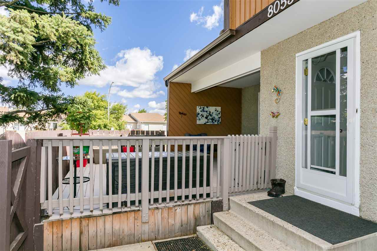Main Photo: 8053 27 Avenue in Edmonton: Zone 29 Townhouse for sale : MLS®# E4207888