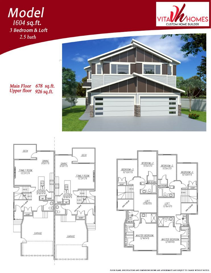 Main Photo: 4459 5 Street in Edmonton: Zone 30 House Half Duplex for sale : MLS®# E4221598