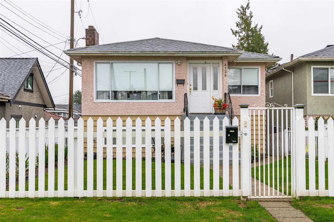 Main Photo: 4136 SKEENA Street in Vancouver: Renfrew Heights House for sale (Vancouver East)  : MLS®# R2514763