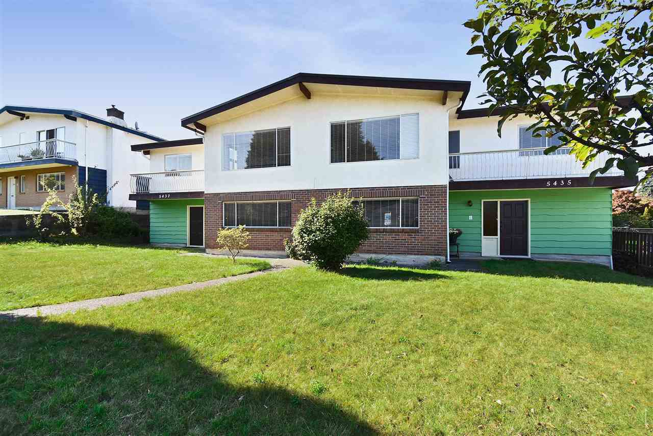 """Main Photo: 5435 - 5437 SUSSEX Avenue in Burnaby: Forest Glen BS House Duplex for sale in """"Forest Glen"""" (Burnaby South)  : MLS®# R2412379"""