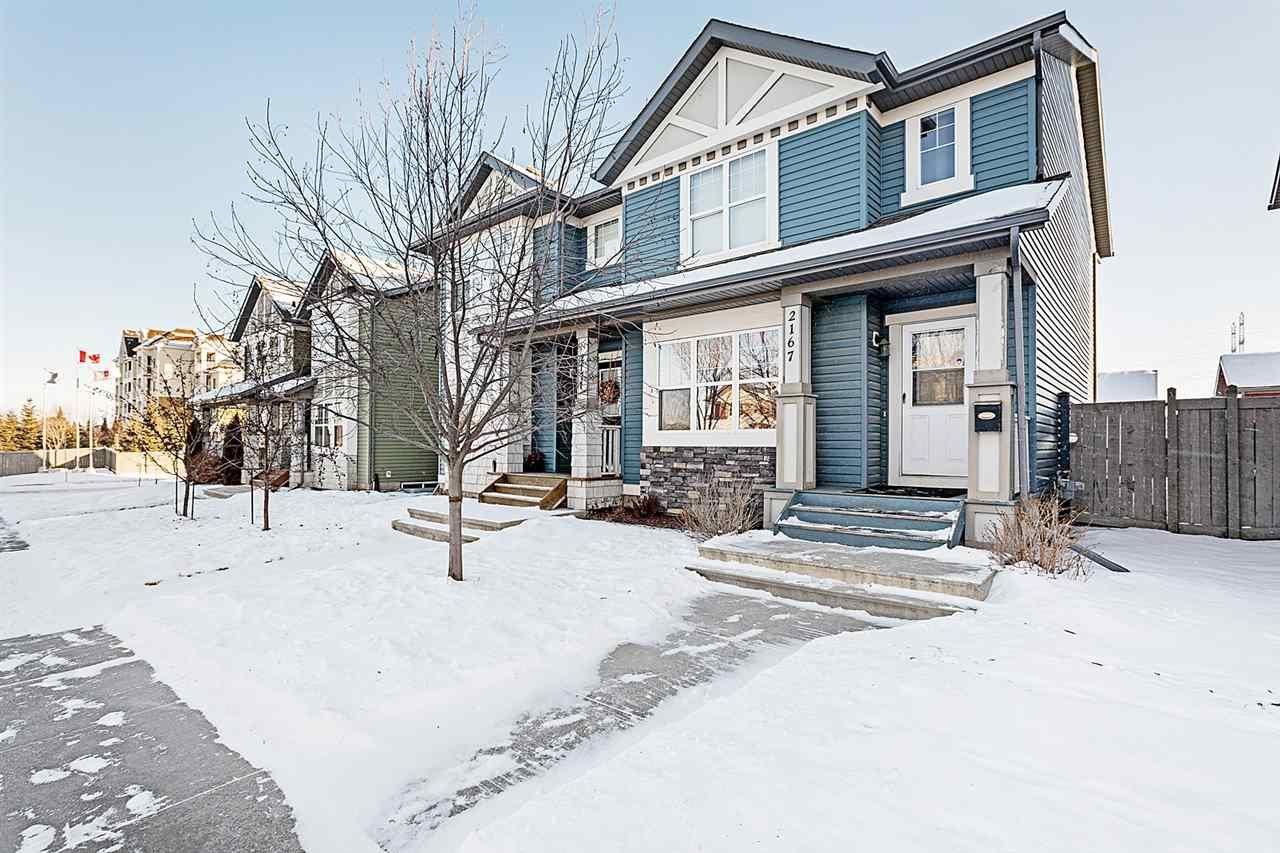 Main Photo: 2167 32 Street in Edmonton: Zone 30 House Half Duplex for sale : MLS®# E4183106