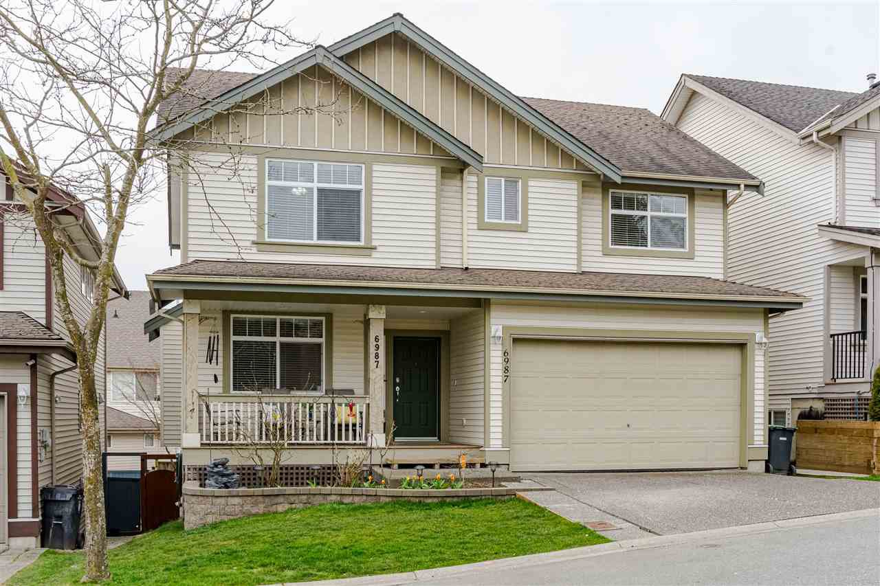 "Main Photo: 6987 202B Street in Langley: Willoughby Heights House for sale in ""JEFFRIES BROOK"" : MLS®# R2445048"