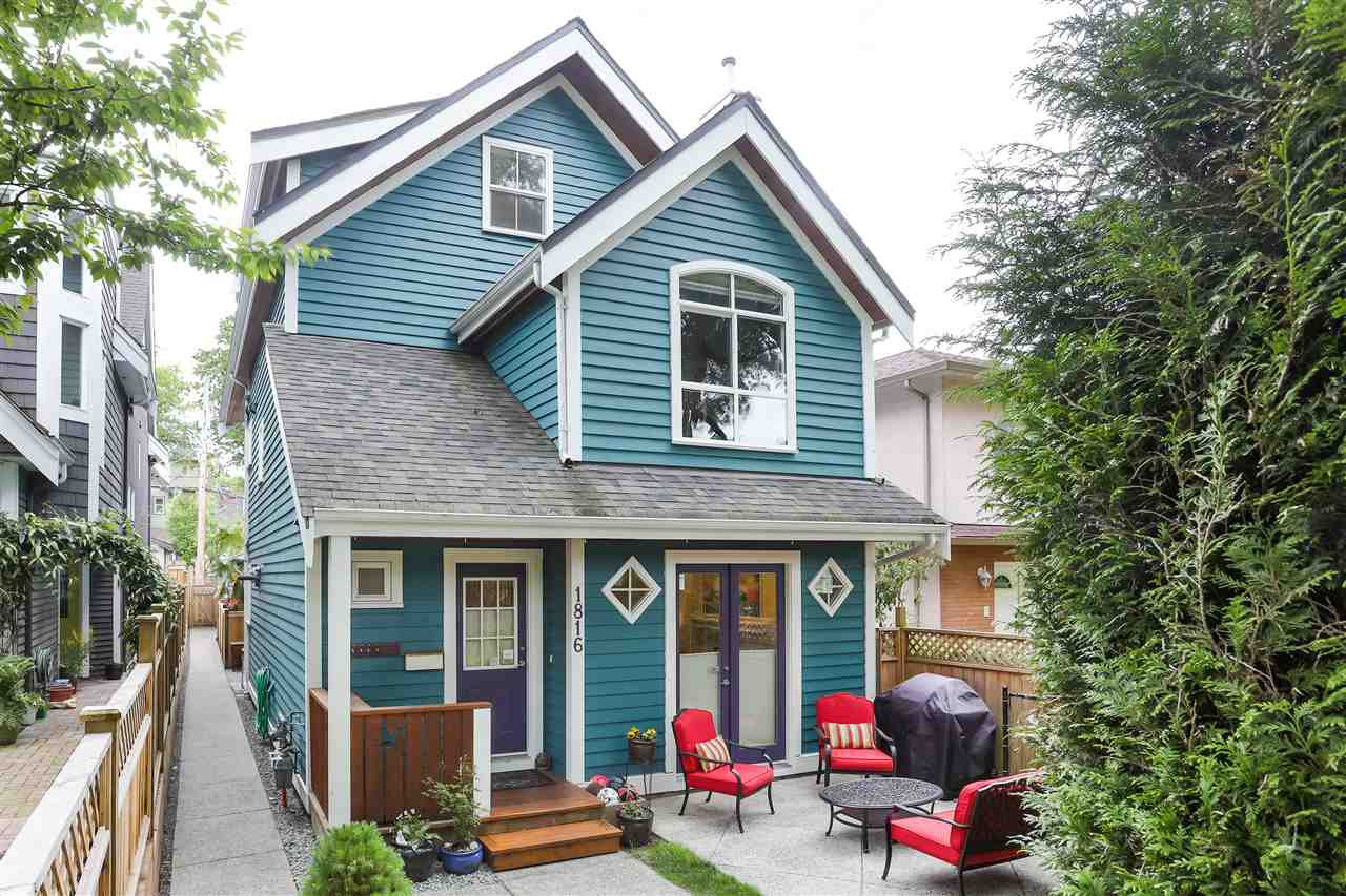 Main Photo: 1816 E 6TH Avenue in Vancouver: Grandview Woodland House 1/2 Duplex for sale (Vancouver East)  : MLS®# R2458887