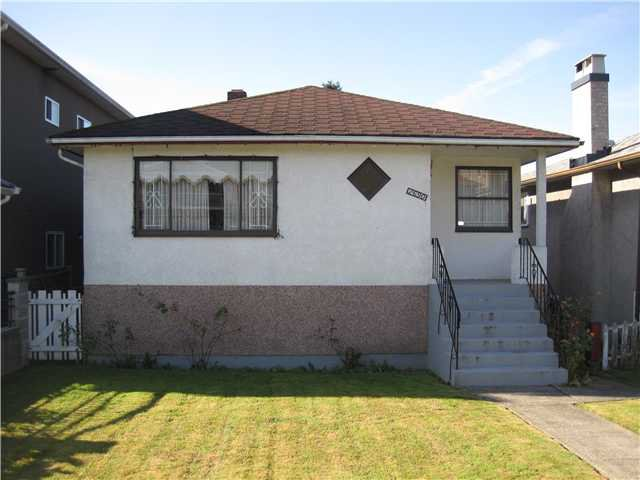 Main Photo: 2690 E 6TH AV in Vancouver: Renfrew VE House for sale (Vancouver East)  : MLS®# V905823