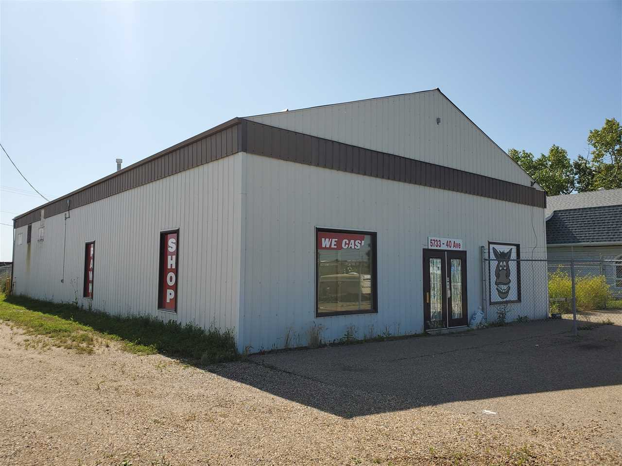 Main Photo: 5733 40 Avenue: Wetaskiwin Retail for sale : MLS®# E4170619