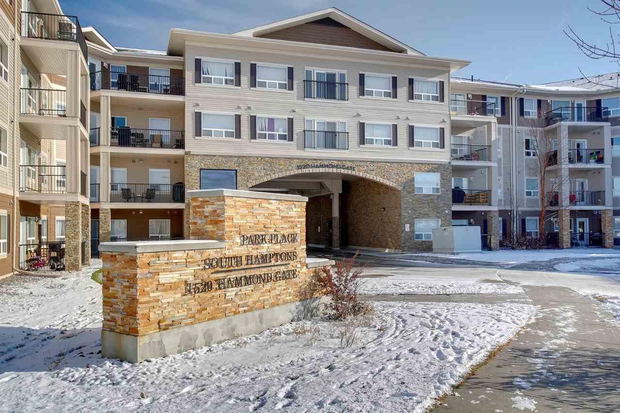 Main Photo: 245 1520 HAMMOND Gate in Edmonton: Zone 58 Condo for sale : MLS®# E4179377