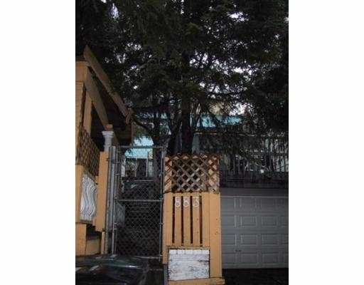 Main Photo: 883 W 8TH Ave in Vancouver: Fairview VW House for sale (Vancouver West)  : MLS®# V624462
