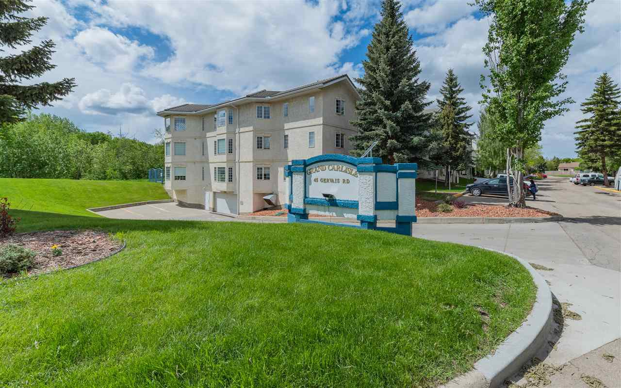Main Photo: 206 45 GERVAIS Road: St. Albert Condo for sale : MLS®# E4200413