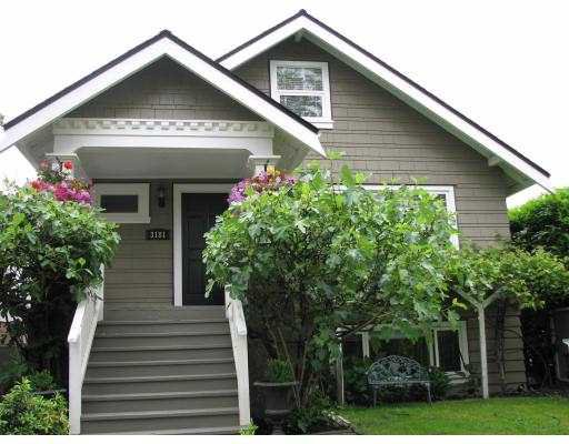 Main Photo: 3181 W 10TH Avenue in Vancouver: Kitsilano House for sale (Vancouver West)  : MLS®# V651439