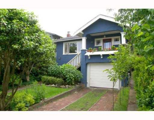Main Photo: 4570 BELMONT Avenue in Vancouver: Point Grey House for sale (Vancouver West)  : MLS®# V653879