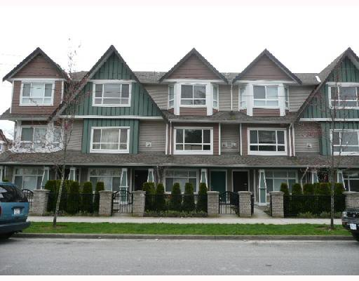 Main Photo: 7 8080 BENNETT Road in Richmond: Brighouse South Townhouse for sale : MLS®# V710687