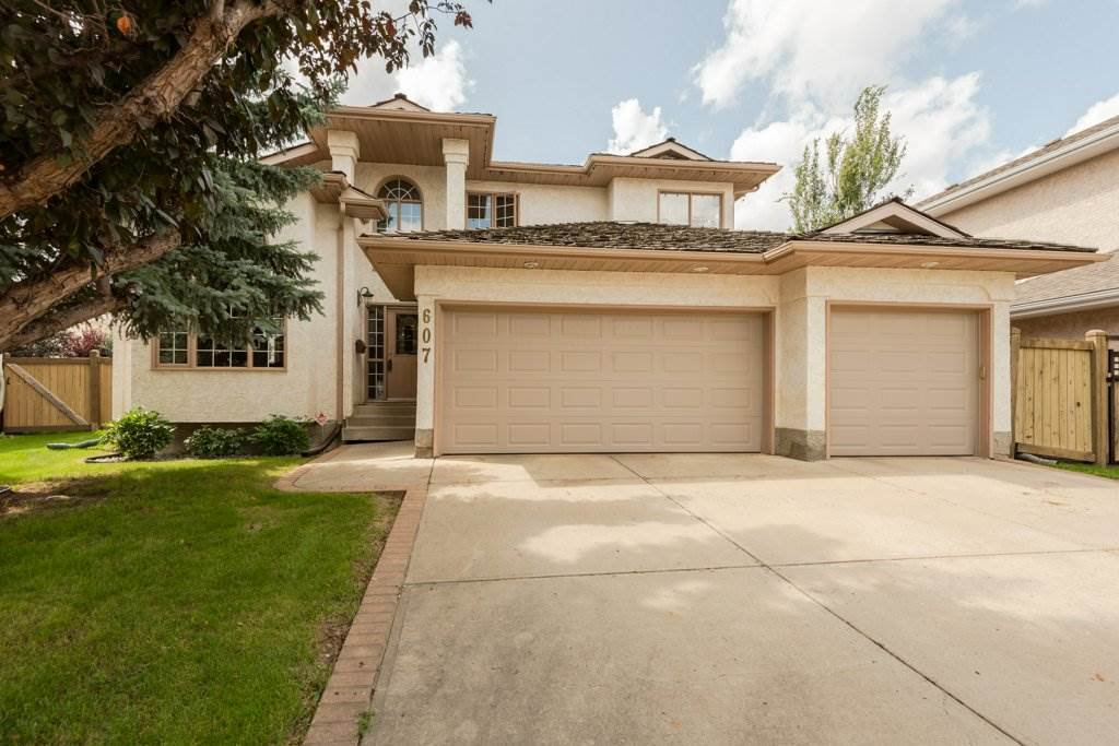 Main Photo: 607 BUTTERWORTH Wynd NW in Edmonton: Zone 14 House for sale : MLS®# E4169155