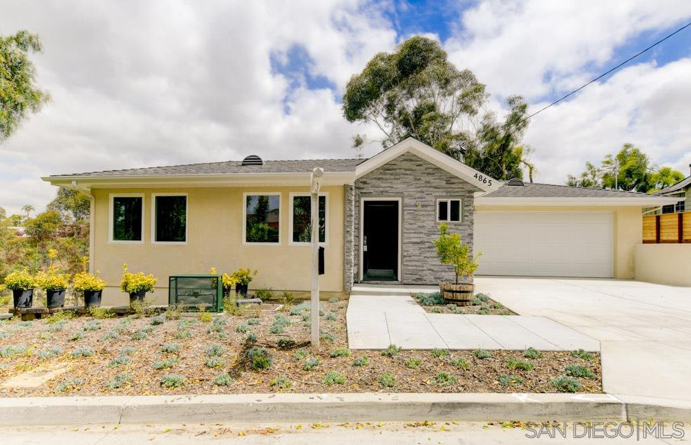 Main Photo: NORMAL HEIGHTS House for sale : 3 bedrooms : 4865 39th in San Diego