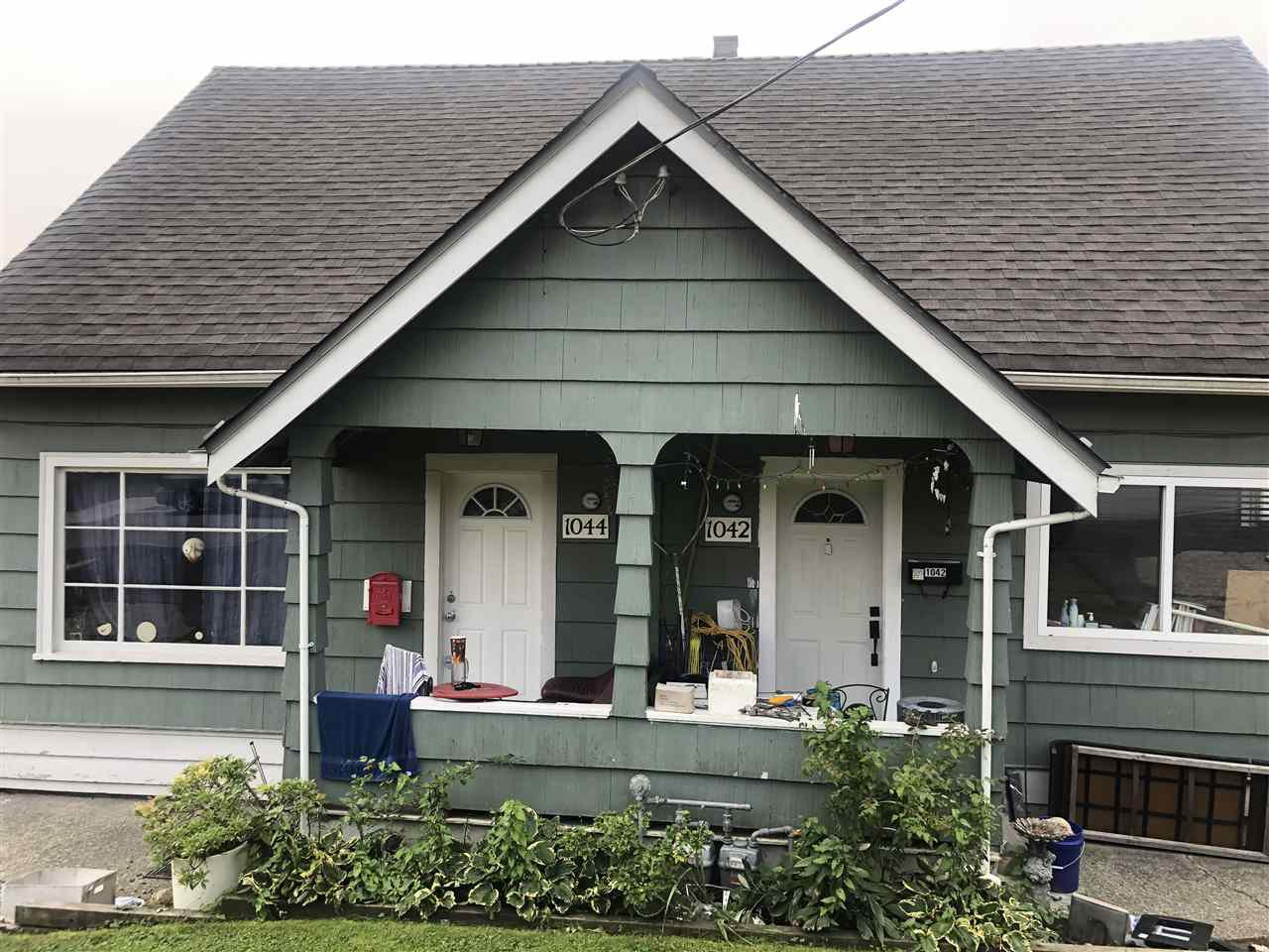 Main Photo: 1042 DELESTRE Avenue in Coquitlam: Maillardville Duplex for sale : MLS®# R2505087