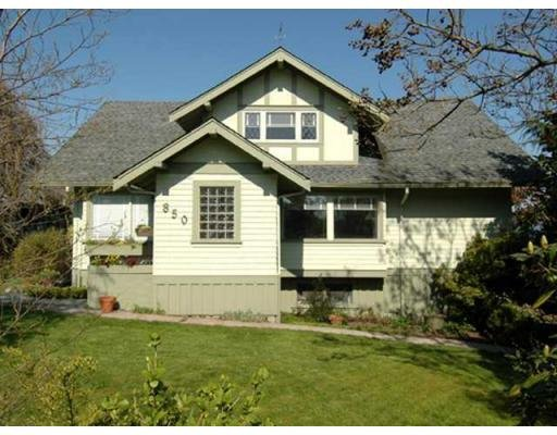 Main Photo: 850 HENDRY AV in North Vancouver: House for sale : MLS®# V884549